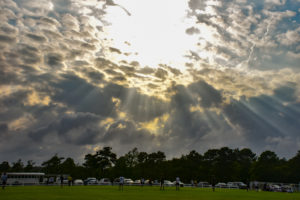 Beautiful skies over TCR soccer games