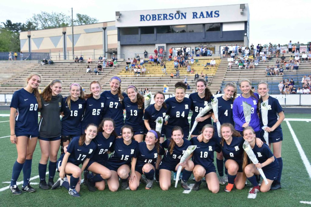 The 2019 Lady Rams Soccer team